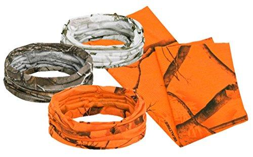 Pinewood 5696 Unisexe Multifonction Pack de 3 Chiffon Camou