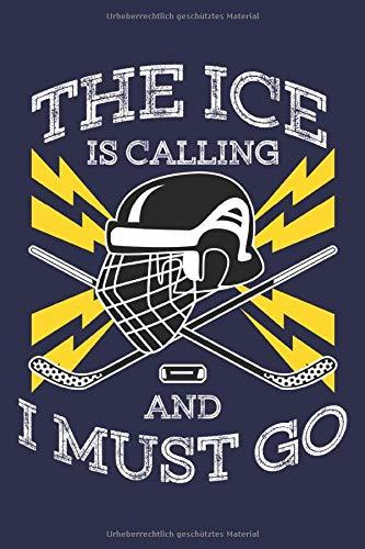 Eishockey Notizbuch: Ein cooles Notizbuch für alle Eishockey Spieler
