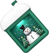 UKCOCO Nachtlampje Kerst Verlichte Huis Kids Slaapkamer Decoratieve Xmas Night Light Wall Mounted Sfeer Lamp 1 Set Groen