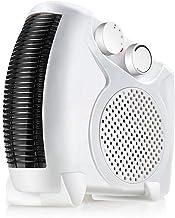Calefactor Cerámico Portátil Calefactor Eléctrico Con 3 Niveles De Calor Y Modo Ventilador De Aire Frío Calefacción Eléctrica Silenciosa Bajo Consumo[Clase De Eficiencia Energética A+](Cableado:1,2 m)