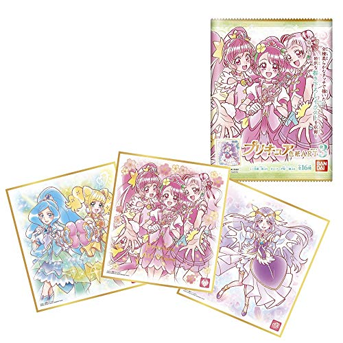 プリキュア 色紙ART3 (10個入) 食玩・ガム (プリキュア)