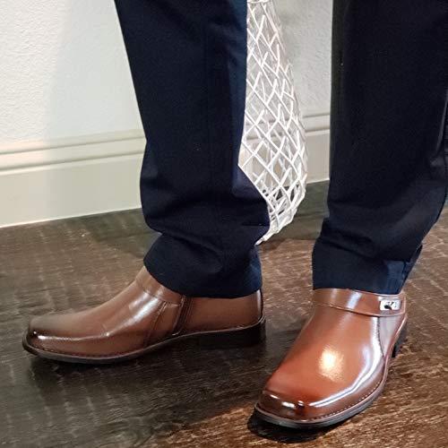 dress boots square toe