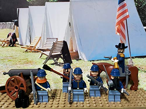 LEGO Civil War Union Army! Northern Army of The Potomac with General Ulysses S. Grant