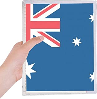 Australia National Flag Oceania Country Notebook Loose-leaf Spiral Refillable Journal