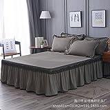 huyiming Verwendet für koreanische Version Lace Bett Kleid Einzelbett gesetzt Doppelbettdecke,...