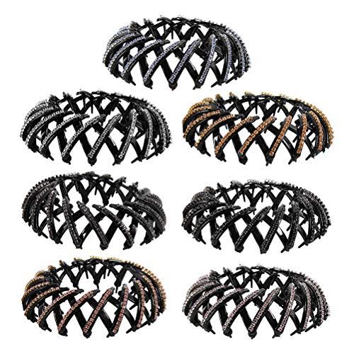 Lurrose Ciambelle per chignon Accessori per Capelli Fermagli per capelli (colore casuale)