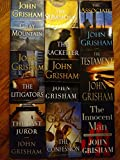 Set of 10 John Grisham Hardcover Thrillers: Gray Mountain; The Summons, Racketeer, Associate, Litigators, Appeal, Testament, Innocent Man (non fiction), Confession, and Last Juror