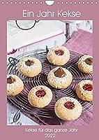 Ein Jahr Kekse (Wandkalender 2022 DIN A4 hoch): Leckere Kekse fuer das ganze Jahr (Monatskalender, 14 Seiten )