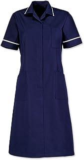 Size 116 cm Plain White Piping//Trim Chest Size 22 Alexandra AL-D312NA-116T Series AL-D312 Zip Front Dress Sailor Navy Tall