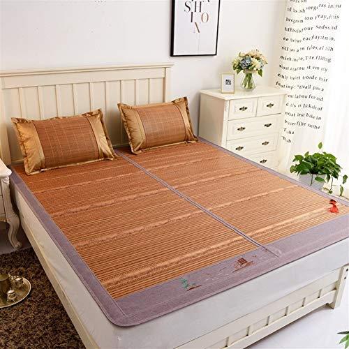 RNGNB Cooling Mattress Koelmat van carboniseerde bamboemat, uitstekende afwerking, comfortabele slaapmat voor de zomer (keuze uit meerdere maten) 150 * 195cm