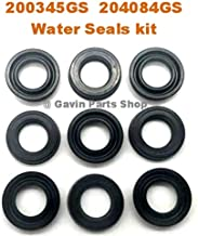 Gavin parts shop (9/pcs 200345GS 204084GS Water Seal Washer Kit for Briggs & Stratton Pump fits RMW2G24 SRMW2.2G26 AR42122 70-464 AR2235