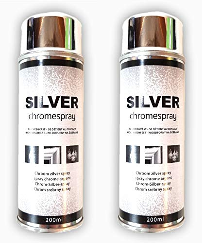 Chrom Spray 200 ml Chromspray Silber-Spray