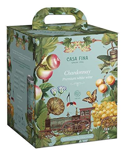 CASA FINA Vino Blanco CHARDONNAY PACK 4 Latas x 250ml