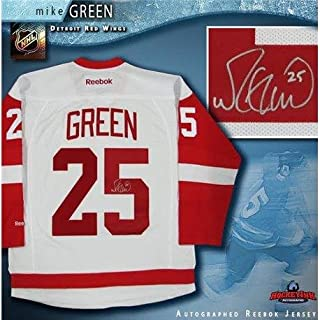 b22c1eee319 Mike Green (Washington Capitals) Autographed Jersey - White Reebok -  Autographed NHL Jerseys