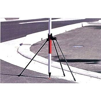 ハイビスカス ポールホルダーS 三脚タイプ PH-S 脚長490mm 水準測量 土木 地籍調査