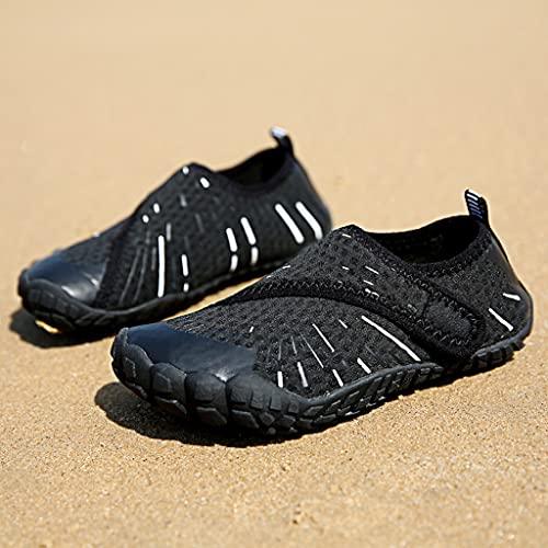YUTRD ZCJUX Niños Niñas Zapatos de Agua Seco rápido Descalzo Aqua Calcetines para Piscina Piscina Calzado (Size : 34)