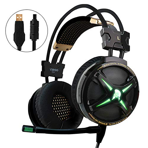 WeIM 2019 Gaming Headset Virgo M60 (Black)