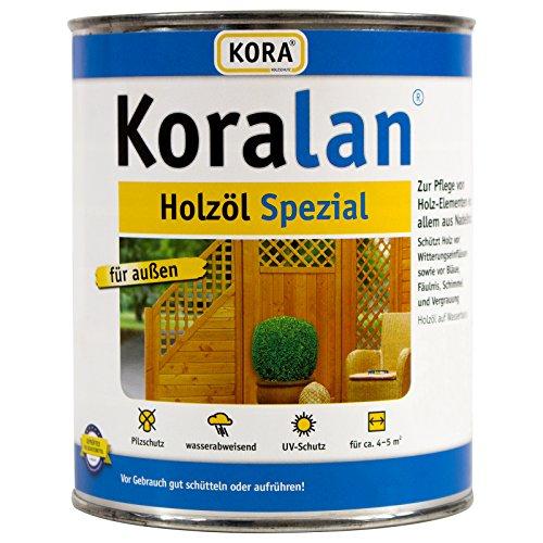 Koralan Holzöl Spezial Öl UV-Schutz Außenöl Palisander 2,5L