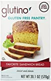 Glutino Gluten Free Pantry Favorite Sandwich Bread Mix 20.1 Ounce (Pack of 6)...