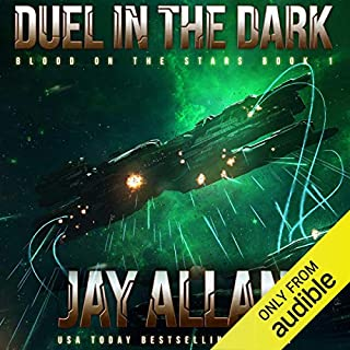 Duel in the Dark audiobook cover art
