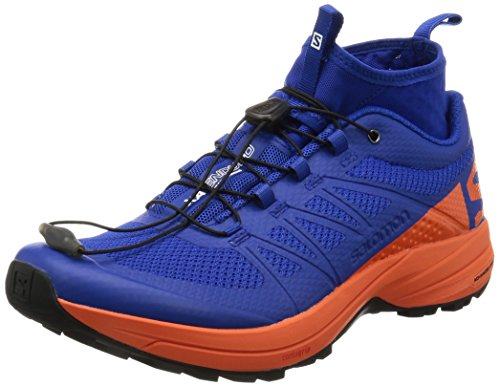 adidas XA Enduro, Zapatillas de Running para Asfalto para Hombre, Azul (Royal Blue/Orange Royal Blue/Orange), 44 EU