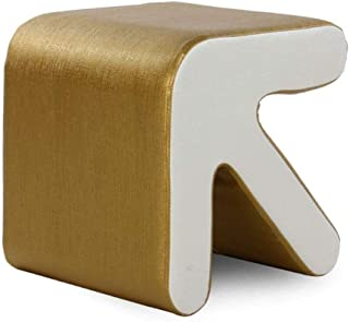Yxsdd Ottoman Footstools Stools Footstool Step Stools Work Stool Living Room Bedroom Change Shoes Cortex Solid Wood Bracke...