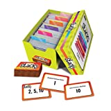EAI Education Math Stacks Classroom Game, Set of 6: Grades 6-8
