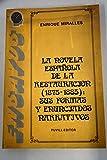 La novela española de la Restauración (1875-1885): Sus formas y enunciados narrativos (Biblioteca universitaria Puvill) (Spanish Edition)