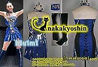安室奈美恵 25周年記念 25th ANNIVERSARY LIVE in OKINAWA 青ワンピース 首輪+腕輪 ●コスプレ衣装