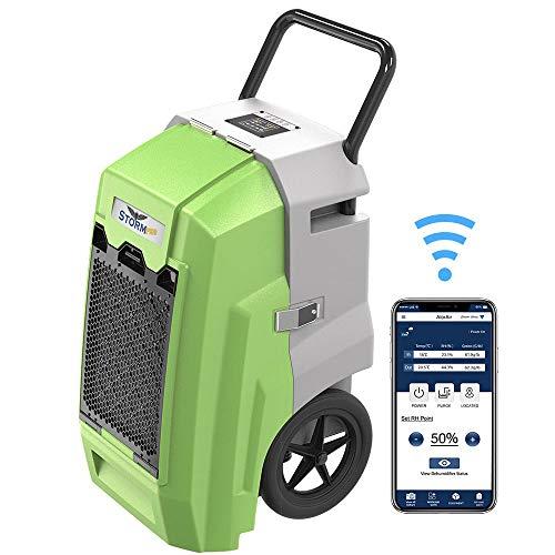 Great Deal! ALORAIR Storm Pro Industrial Commercial Dehumidifier, WiFi Smart 85 PPD Dehumidifier wit...