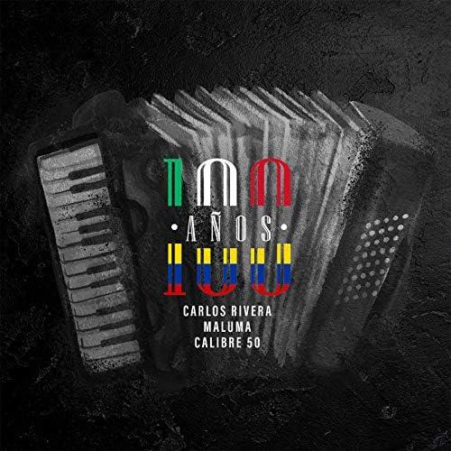 Carlos Rivera, Maluma & Calibre 50