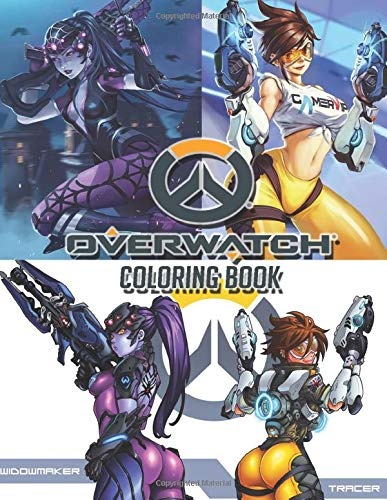 Overwatch Coloring Book: Great Quality Coloring Book. This is a must have for Overwatch fans! Nice Book Cover With Velvety Finish. The Book Itself Is Just Like The Game & Has Drawings In It.