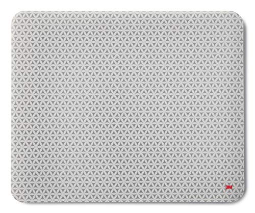 3M Precise Mouse Pad with Repositionable Adhesive Backing, Battery Saving Design, 8.5 x 7 Inch (MP200PS)