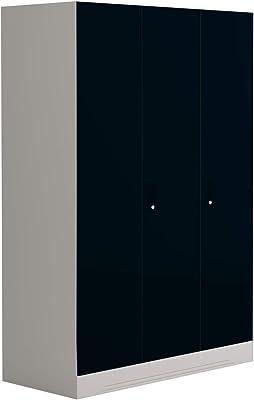 GODREJ INTERIO Slimline Metal Wardrobe Pacific Blue,3 Door