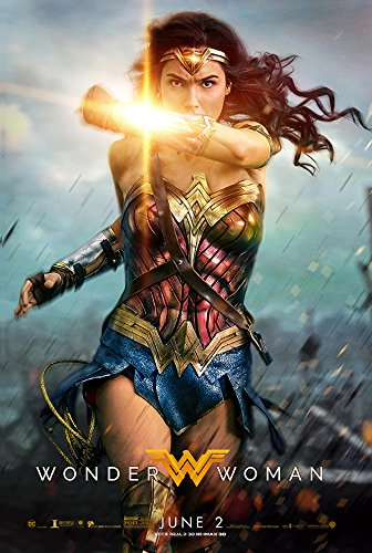 KodiakPrints Wonder Woman (2017, English Version) Style B - Movie Poster - Size 24'x36'