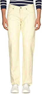 INCOTEX インコテックス 5ポケットパンツ 33サイズ アイボリー 春夏