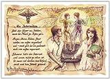 Geschenk Internist Internisten Zeichnung Color 20 x 15 cm -