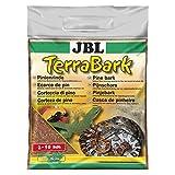 JBL TerraBark 71021 Bodensubstrat, für Wald und Regenwaldterrarien, Pinienrinde, 2 - 10 mm, 5 l