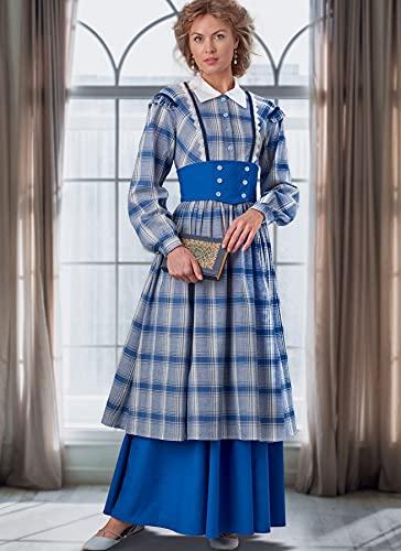 McCall's Sew Patterns M8184E5 Patrn de Costura para Disfraz de Mujer, multicolor, E5 (14-16-18-20-22)