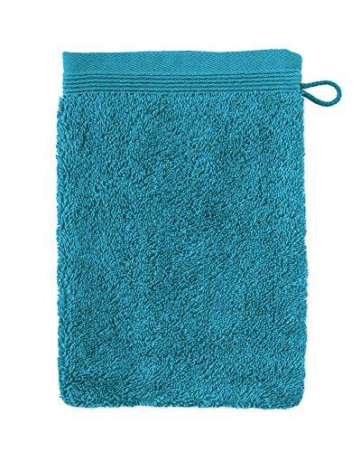 möve Superwuschel Waschhandschuh aus 100% Baumwolle, lagoon, 20 x 15 cm