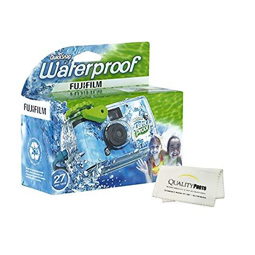 Fujifilm Quick Snap Waterproof 27 exposures 35mm Camera 800 Film, 1...