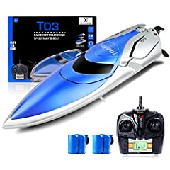 Maximum speed up to 20 mph! Streamline design effectively reduces drag, steadier sailing, and faster speed. Unique LCD screen- It will send out alarm to warn you shipping back when it's in low electricity. More secure, more fun and more efficient mat...