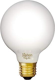 ビートソニック LED電球 《Siphon》ホワイトタイプ G80 50W相当 全光束600lm 電球色(2600K) 口金E26 調光器対応 LDF70