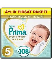 Prima Bebek Bezi Premium Care 5 Beden Junior