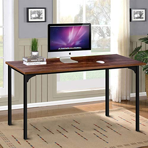 Simplux Diseño moderno, mesa de estilo simple, escritorio de ordenador para el hogar, oficina, para trabajar, estudiar, escribir o jugar, madera