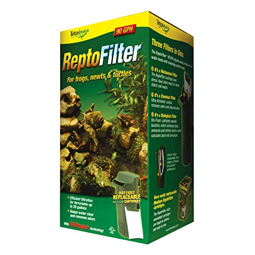 Tetra ReptoFilter, Terrarium Filtration, Keeps Water Clear