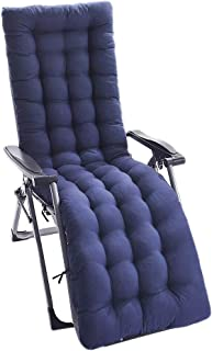IsEasy 61-inch Patio Chaise Lounger Cushion, Indoor/Outdoor Chaise Lounger Cushions Rocking Chair Sofa Cushion Tatami Mat Window Seat Mattress