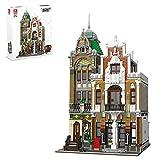 TopBau Postamt Street View Building - Juego de construcción de 4560 piezas modular Buildings casa compatible con Lego Creator