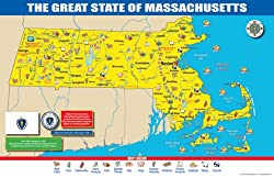 MA Map Massachusetts Road Maps State Map Guide Massachusetts - Massachusetts maps