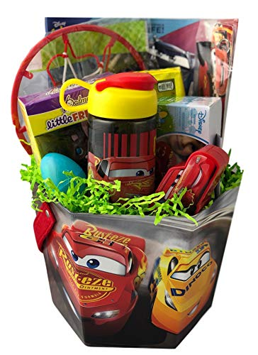 bycars Cars PreMade Easter Basket for...